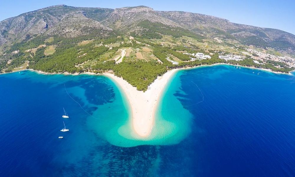 The Most Beautiful Beaches on The Island Brac