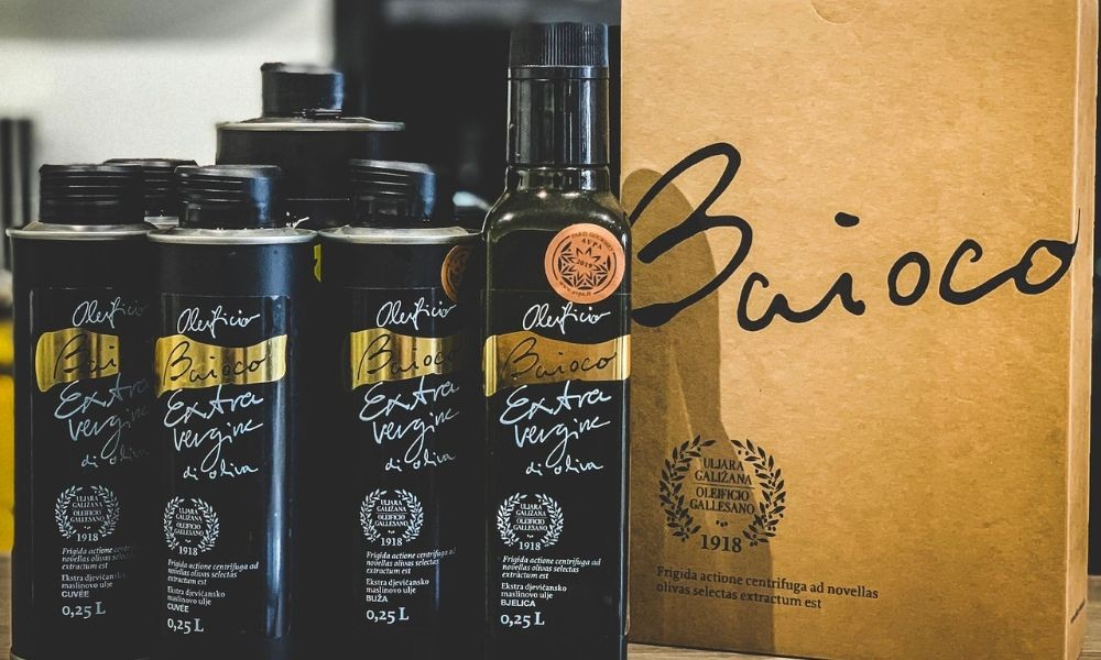 Baioco Extra Virgin Olive Oil - Adriatic Luxury Villas