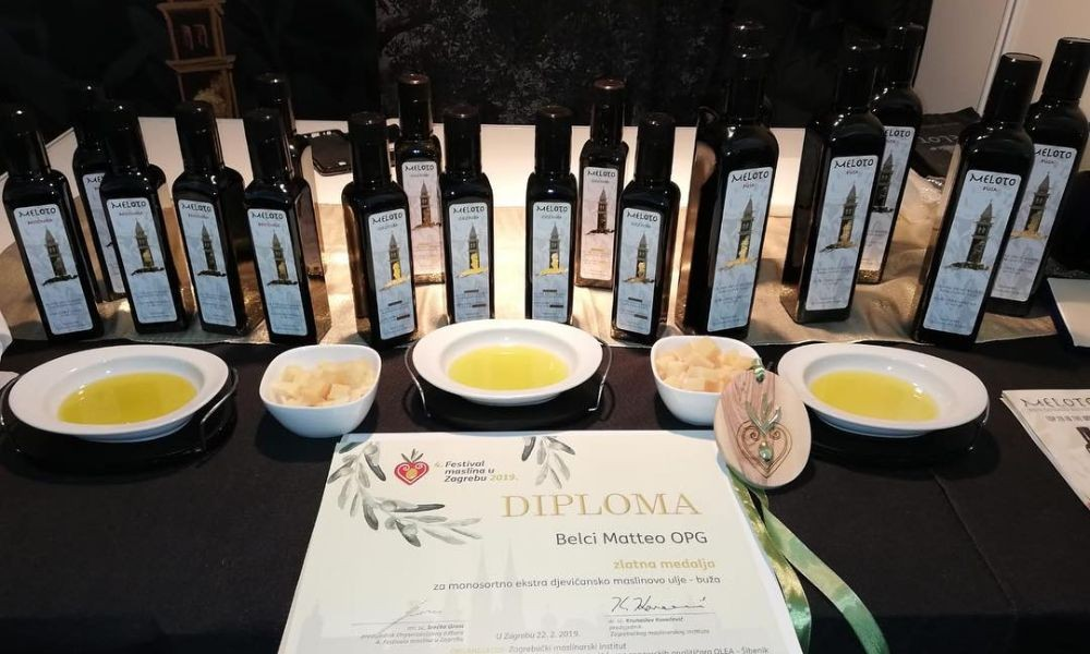 Meloto Extra Virgin Olive Oil - Adriatic Luxury Villas