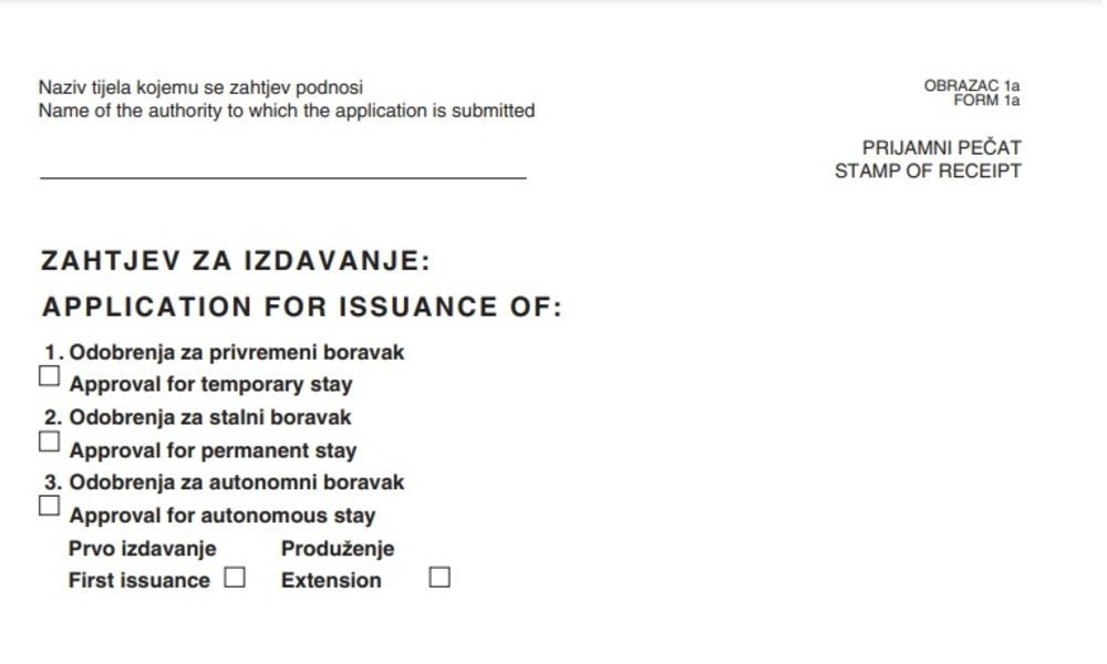 Application Form for Obtaining a Digital Nomad Visa in Croatia - Adriatic Luxury Villas